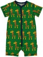 Maxomorra jumpsuit s/s giraffe