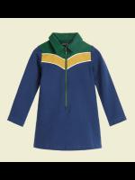 Petit Louie Zip Dress Uni Sweat Royal Blue