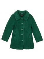 Petit Louie Anais Coat Savoy Peacock green