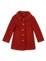 Petit Louie Anais Coat Savoy True Red