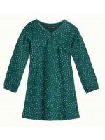 Petit Louie Cup Dress Little Dots Dragonfly Green
