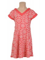 Petit Louie Jolie dress Madeira Persimmon