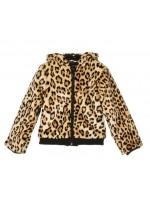 Petit Louie Lexi Coat Leopard