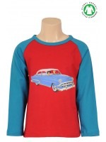 Petit Louie longsleeve car wine