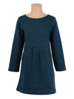 Petit Louie Mona dress Milly Everglade Green