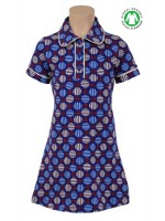 Petit Louie polo dress Anchor Jet Blue