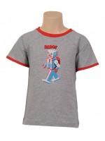 Petit Louie t-shirt Robot Grey Melange