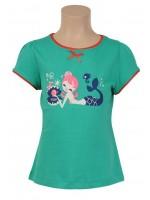 Petit Louie t-shirt Mermade Delphinium