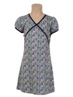 Petit Louie Mona dress Tosca Pastel blue