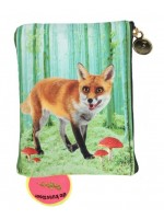 De Kunstboer portemonnee Fox