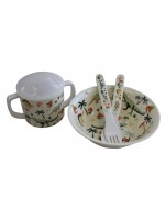 Powell Craft Melamine Tableware Dino Set 1