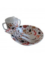 Powell Craft Melamine Tableware Woodland Set 1