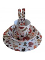 Powell Craft Melamine Tableware Woodland Set 2