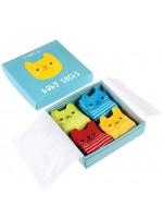 Rexinter giftbox babysokjes kat
