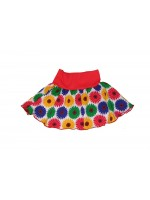 Snoozy rokje rok skirt sunflower Pimpyourkids