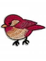 Waaaw applicatie vogel rood