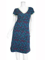 Is.Is dress jersey print keper dark blue