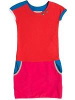Waaaw jurk pockets Rood