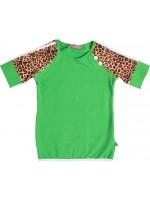 Waaaw t-shirt Peace Groen
