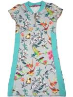Waaaw jurk zipper s/s vogels
