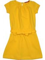 Waaaw jurk fold s/s geel