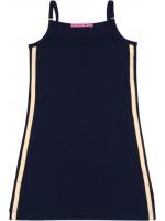 Waaaw jurk hemd navy