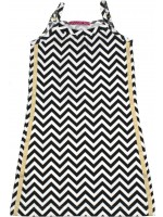 Waaaw jurk hemd zigzag