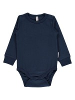 Maxomorra romper l/s dark blue