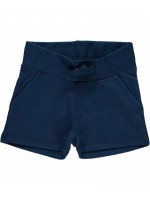 Maxomorra sweat short dark blue