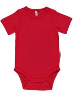 Maxomorra romper s/s red
