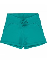 Maxomorra sweat short turquoise