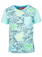 Someone t-shirt splash aqua