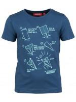 Someone t-shirt vouwvliegtuig night blue