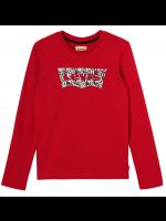 Levi's longsleeve rood logo's