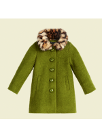 Petit Louie Anais Coat Razzmataz Posey Green