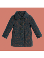 Petit Louie Anais Coat Carnegie Dragonfly Green
