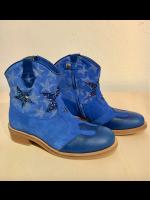 Zecchino D'oro laarzen halfhoog blauw