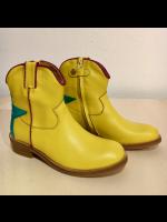 Zecchino D'oro laarzen halfhoog geel