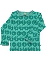 Smafolk longsleeve appels turquoise