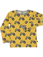 Smafolk longsleeve tractor geel