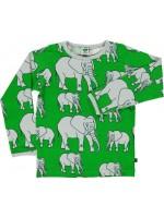Smafolk longsleeve olifanten groen