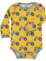 Smafolk romper tractor geel