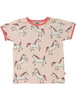 Smafolk t-shirt unicorn roze