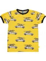 Smafolk T-shirt Auto's Geel