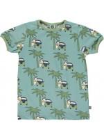 Smafolk T-shirt Surfbus Blauw