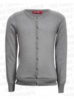 Tof zilver lurex vest van het Belgische merk Someone.  Het vest is gemaakt van 80% katoen en 20% lurex.