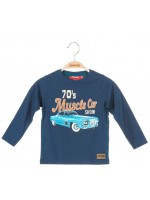 Someone longsleeve muscle car medium blue