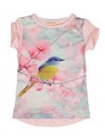Someone t-shirt vogel light pink