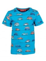 Someone t-shirt Waves Bright Blue