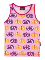 Maxomorra tank top butterfly pink
